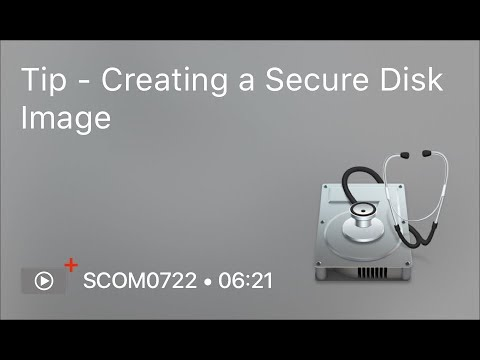 SCOM0722 - Tip - Creating a Secure Disk Image