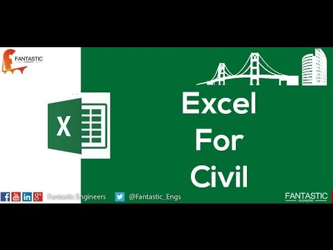 Excel For Civil 3 (Import Excel sheet to Autocad)