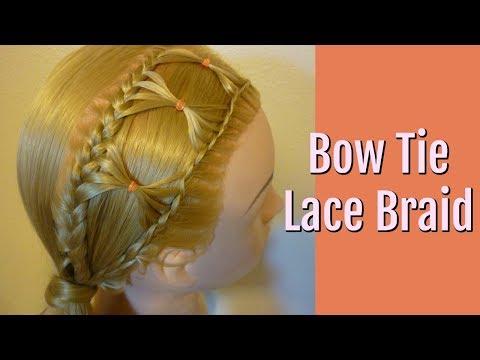 Bow Tie Braid, Braided Hairstyle For Long Hair Tutorial