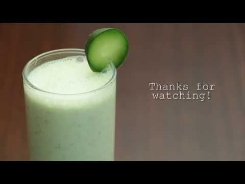 Burn More Fat With This Smoothie  - Cucumber Doogh