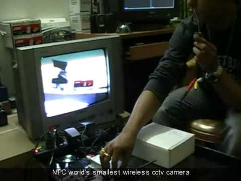 NPC world's smallest wireless cctv camera