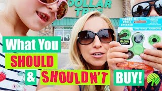 DOLLAR TREE SHOPPING TIPS: 21 Things You SHOULD and SHOULDN
