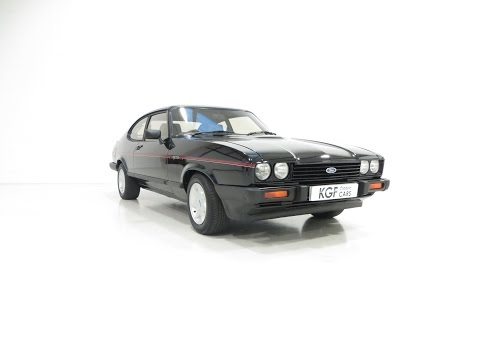 A Retro Ford Capri 2.8 Injection Special with One Owner and 48,919 Miles. SOLD!