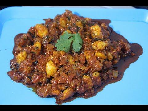 Spicy Shrimp Tomato Masala | Recipe By Desi Zaiqa
