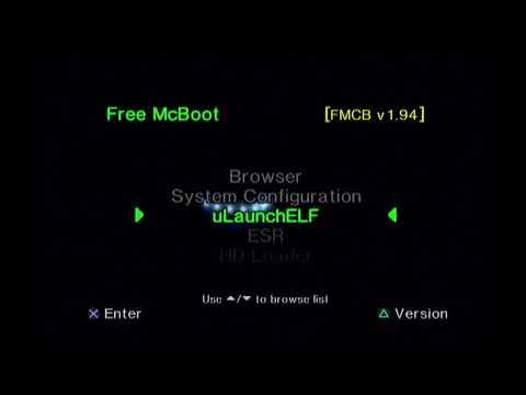 PS2 Matrix Infinity System Using a code breaker