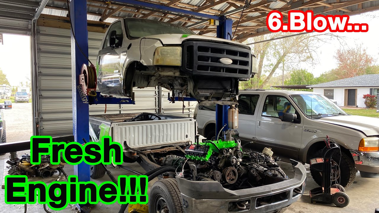 Burnout Truck Engine Install!!! First Fire Up!!