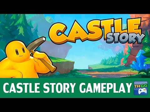 Castle Story - First Co-op Gameplay (4 players)【Conquest Mode】