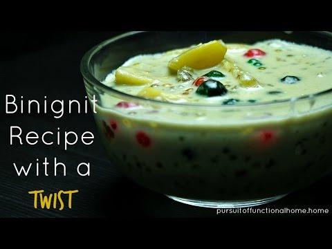 Binignit Recipe with a Twist