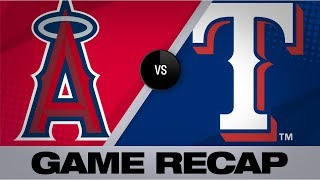 Kiner-Falefa walks off in 11th for 8-7 win | Angels-Rangers Game Highlights 8/19/19