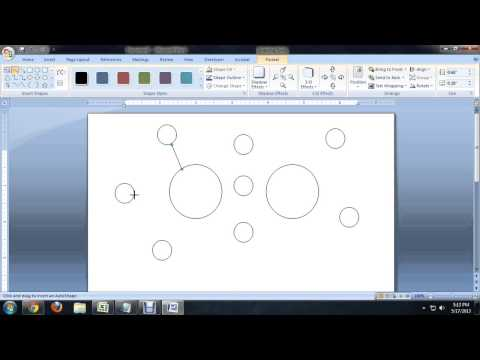 How to Make a Double Bubble Map on Microsoft Office : Tech Niche