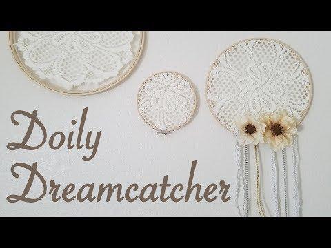 DIY Doily Dreamcatcher (Bohemian Wedding)