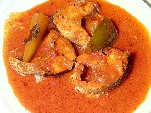 Fish curry with mango