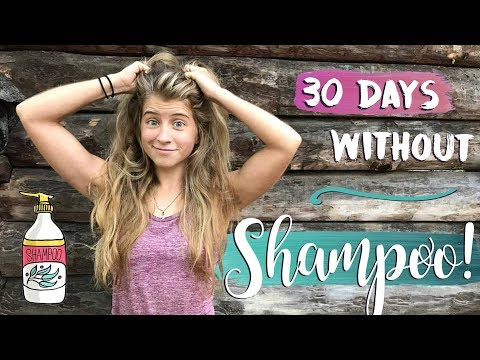MY 30 DAY NO SHAMPOO EXPERIENCE. 💆🏼🙅🏼