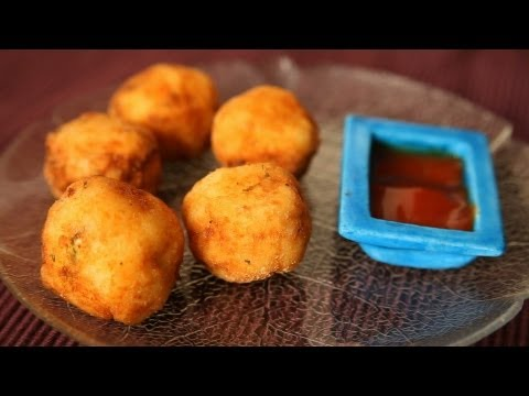 Cheese Balls Recipe - How to Make Cheese Corn Balls - Quick & Easy Appetizer Recipe