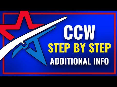 Applying for your CCW in San Diego _ Step by Step w/Additional Info