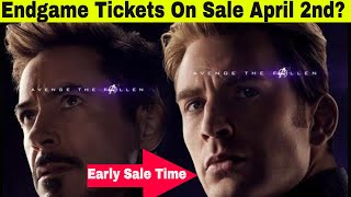 Download Avengers Endgame Tickets April 2nd - You Better Get Up Early If You Live On The West Coast Video