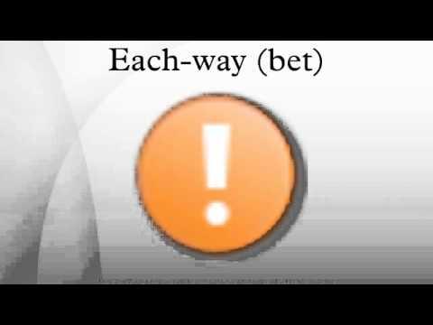 Each-way (bet)