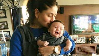 Kareena Kapoor KISSING Taimur Ali Khan Photo is Priceless !