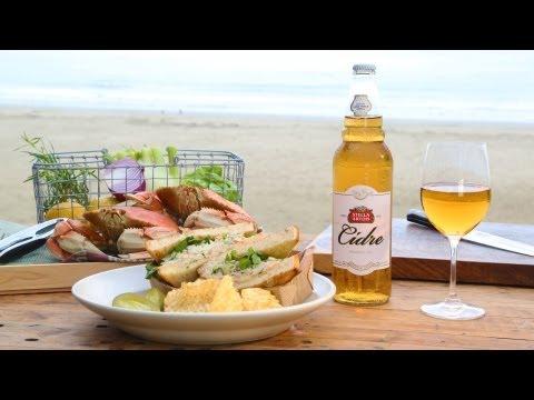 Crab Sandwich   Coastal with Byron Talbott