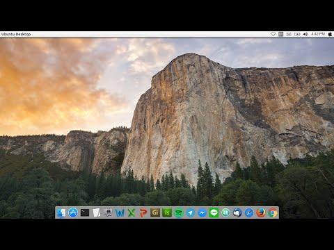 Mac OS X Yosmite Theme for Ubuntu 16 04 LTS Xenial Xerus