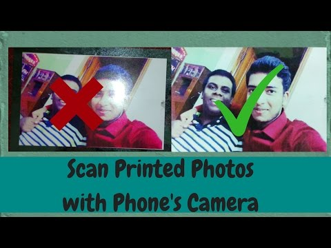 How to Scan Printed Photos with Your Phone