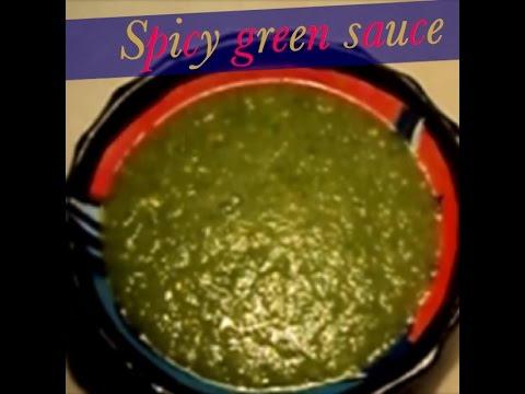 Spicy Green Sauce - Salsa Verde