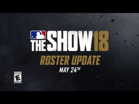 May 24 MLB The Show 18 Roster Update