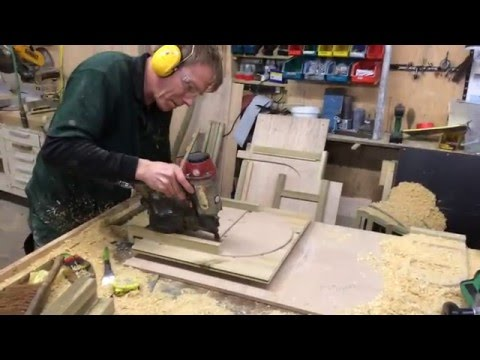 Making an Arched Door for a Rabbit Hutch