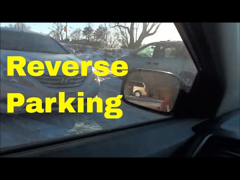 How To Reverse Into A Parking Spot EASILY