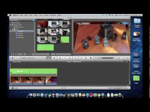 How to make an Animated Intro in iMovie '11