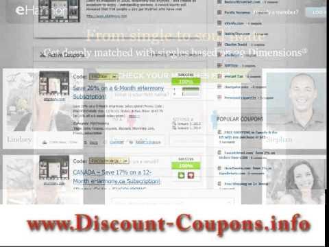 eharmony Coupon Code - eharmony Coupons, Promo Code