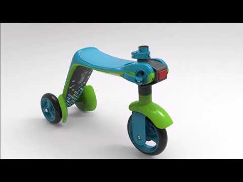 Smoby 2 in 1 Switch Scooter και Ποδήλατο Ισορροπίας - 2 Χρώματα στο  www.toys-shop.gr