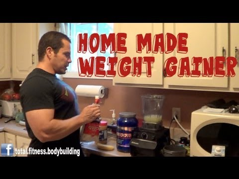 Home Made Weight Gainer Shake