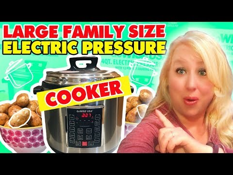Large Family Style 14 Quart Electric Pressure Cooker | Large Family Table