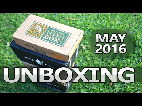 Mystery Tackle Box - UNBOXING - May 2016