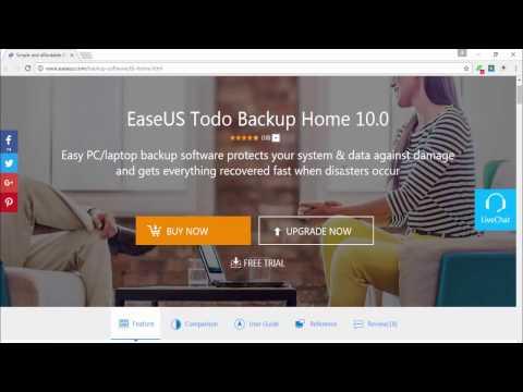 EaseUS Todo Backup Home Arabic Review by Ismail El Mahi