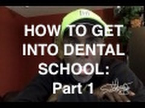 How to Get into Dental School: Part 1 | #NewDentistCoach | Dr Darwin Hayes DDS