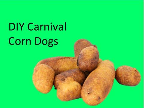 DIY Carnival Corn Dogs