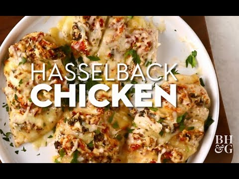Hasselback Chicken | Fast & Fresh | Better Homes & Gardens