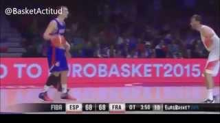 La emocionante prórroga del España-Francia   Eurobasket2015