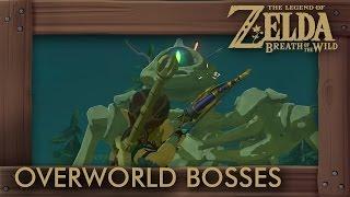 Zelda Breath of the Wild  - All 84 Overworld Bosses