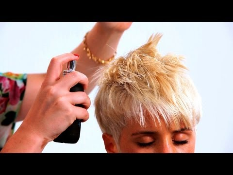 Styling a Pixie Haircut with Long Bangs | Short Hairstyles