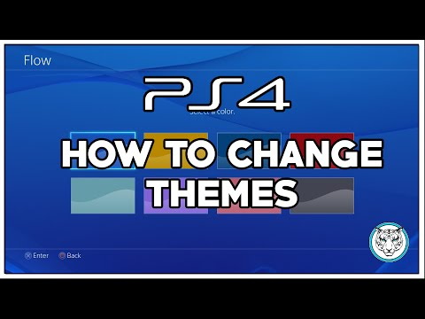 How to change PS4 themes in software update 2.00
