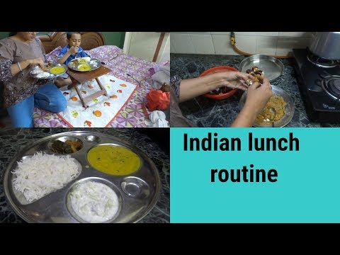 Indian Lunch menu in 40 minutes||Simple lunch|| Indian lunch routine|| Indian mom lunch routine||