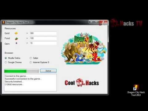 Dragon City Hack Tool (2013)