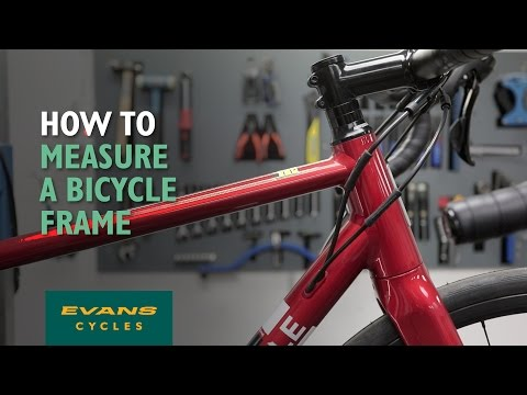 How To Measure a Bicycle Frame