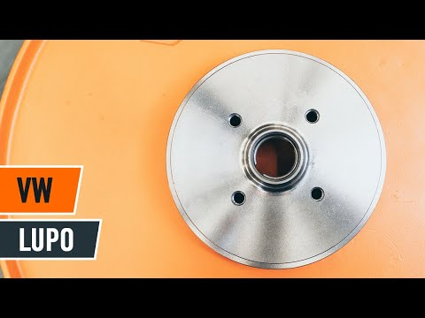 How to replace rear brake drum and brake pads VW LUPO TUTORIAL | AUTODOC