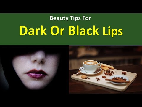 Beauty Tips for Dark or Black Lips|Say NO to smoking: