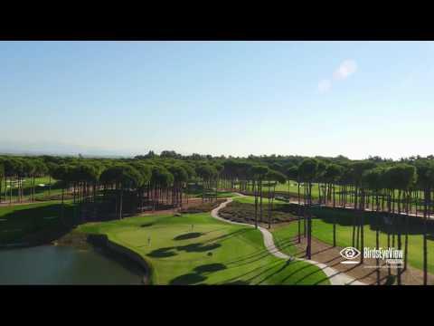 Regnum Carya Golf Course - An Aerial View