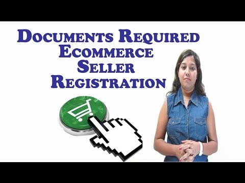 Documents required to register online as a seller on ecommerce marketplace